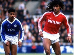 Ruud Gullit scored 24 goals from defense for PSV
